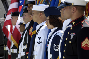 Color Guard of the Armed Forces of the United States of America