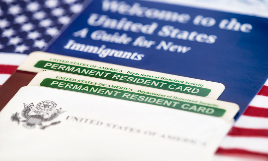 Welcome to the United States of America / Green Card